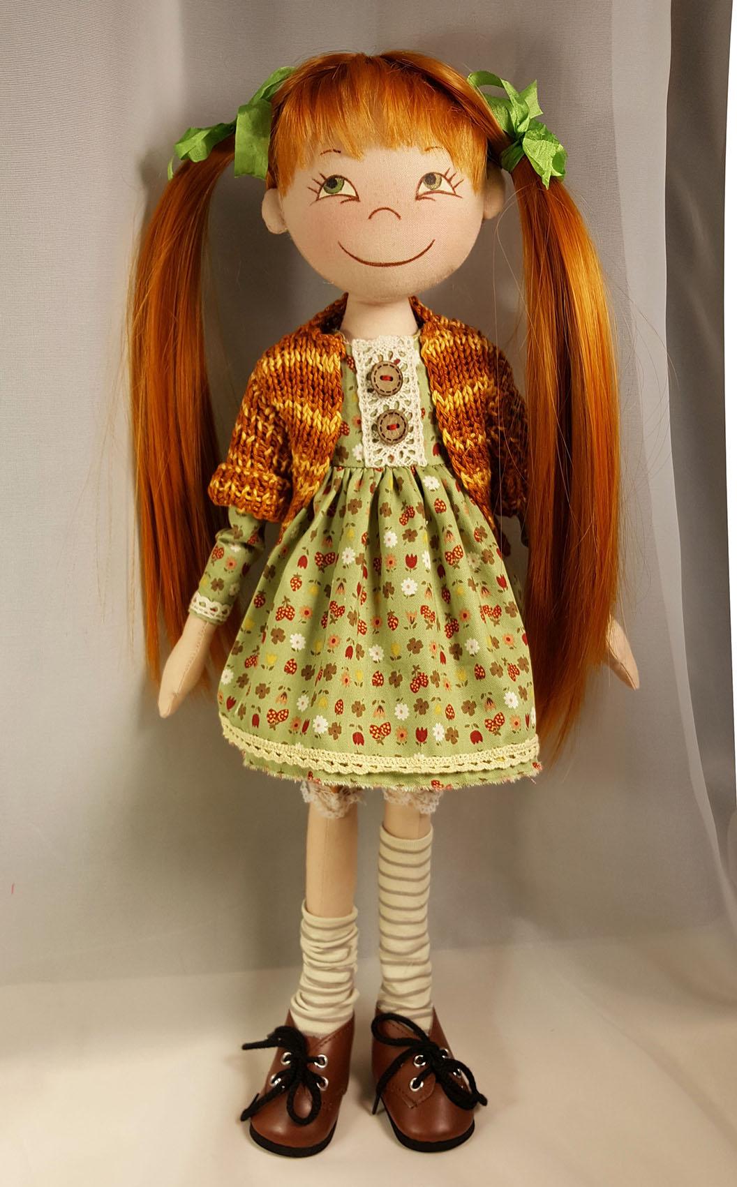 Сшитые из ткани куклы 82